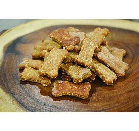 Banana Peanut Butter Delight Dog Treats by Fresh 4 Paws