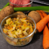 Fresh 4 paws orange dog food ingredeints