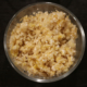 Periwinkle dog food made by Fresh4paws in glass bowl