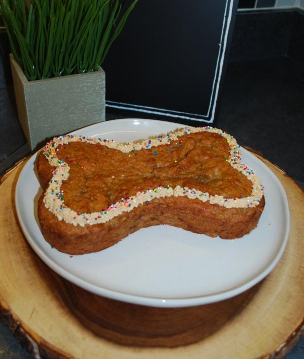 Doggie Bone Cake